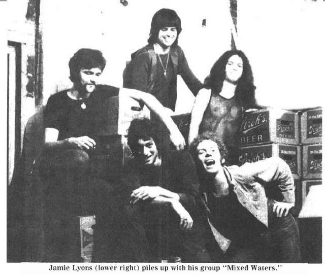 Ohio State Lantern, November 2,1972 with band name misspelled