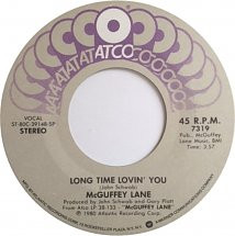 Atco label of Long Time Lovin' You 45
