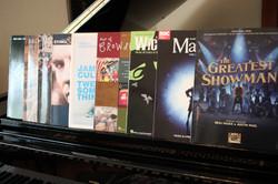 Large range of music