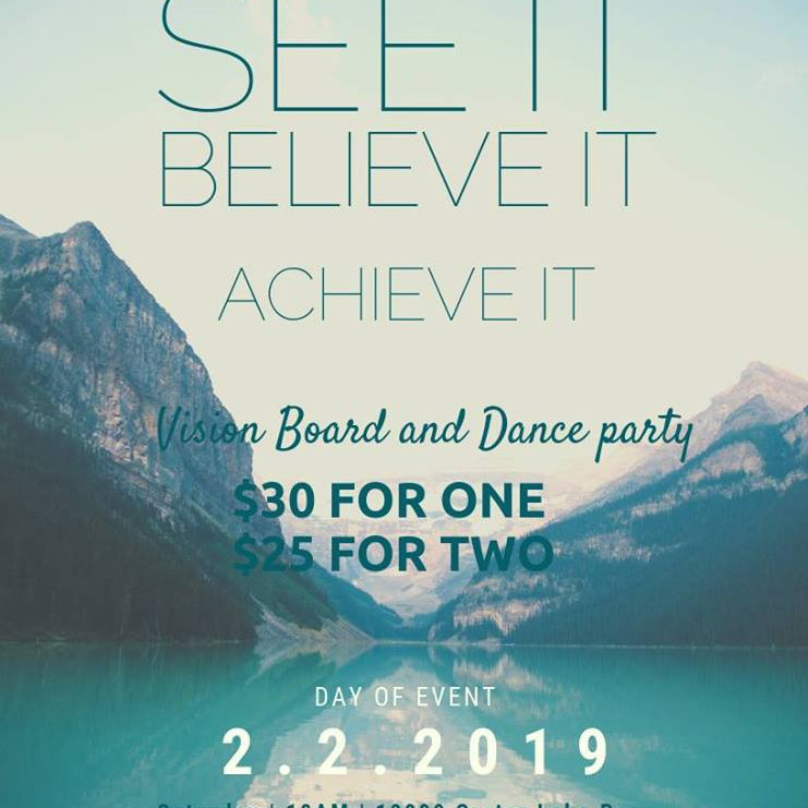 Vision Board and Dance Party