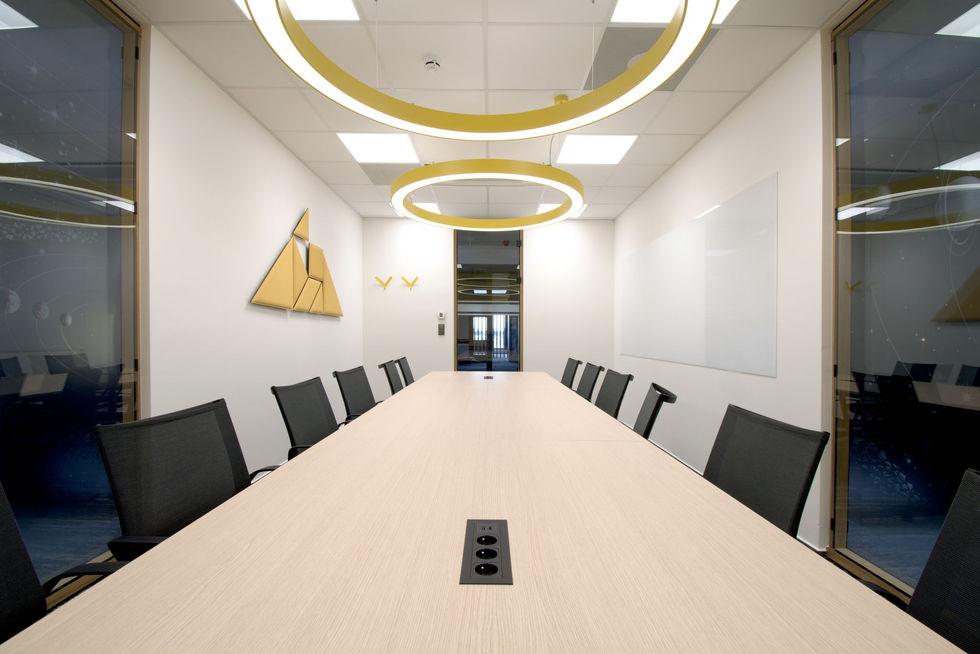 Kooperativa zasedací místnost
