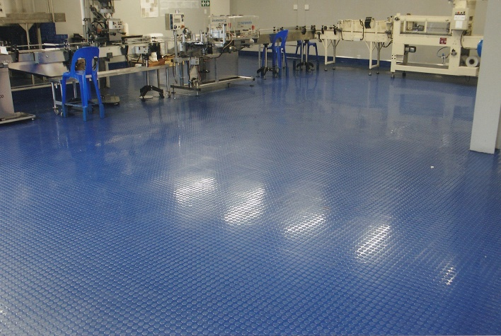 Food Manufacturer 8x8 Cobalt Blue