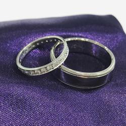 Wedding Rings at Number Ten Jewellers 🖤