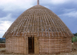 Ethiopia Guraghe tukuls construction 22