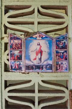 altar improvisado