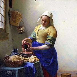 The milkmaid gif. Veermer