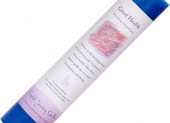 Reiki Herbal Pillar Candle - Good Health