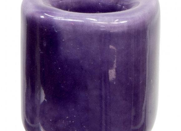 Mini Ritual Candle Holder - Purple