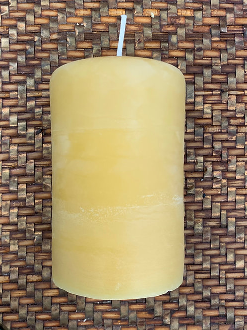 Beeswax Candle - Smooth Finish 3.1 x 5″
