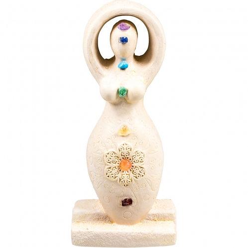 Chakra Goddess Figurine