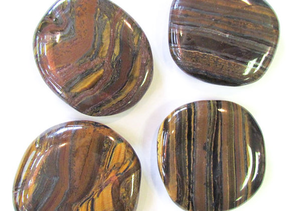 Earth Stone - Tiger's Eye, Golden