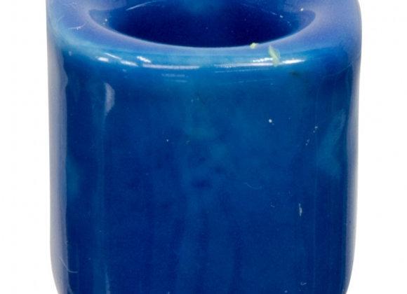 Mini Ritual Candle Holder - Dark Blue