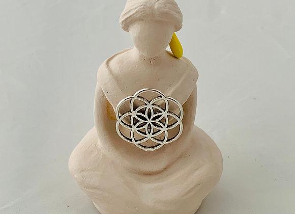 "Goddess ""Seed of Life"" Figurine"