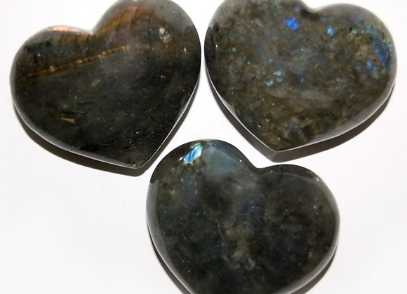 Puffy Heart -Labradorite