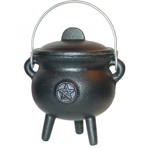 """Cast Iron Cauldron - Pentacle 3"""""""