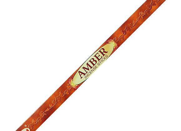 HEM - Amber Incense 8pk