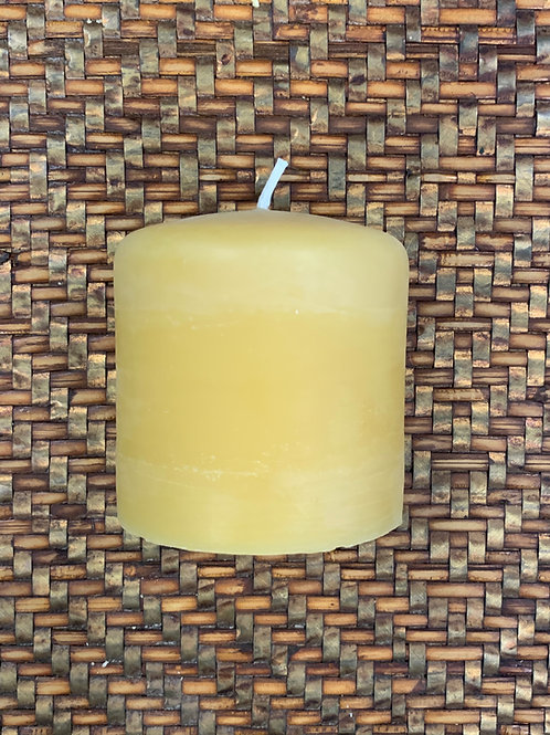 Beeswax Candle  - Smooth Finish 3.1 x 3″