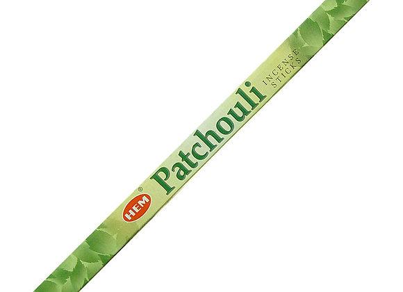 HEM - Patchouli Incense 8pk