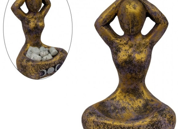 Triple Moon Yoga Goddess