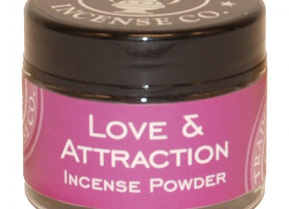 Love & Attraction Incense 20gr Jar