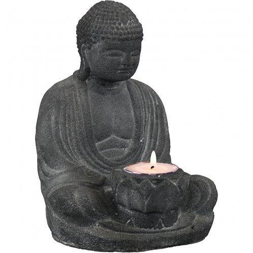 Buddha Statue & T-Lite Holder