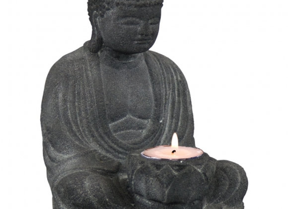 Buddha Statue & T-Lite Holder