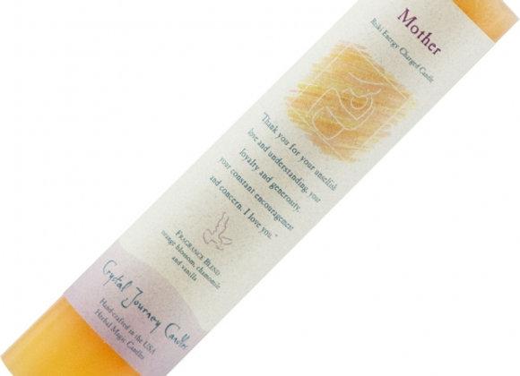 Reiki Herbal Pillar Candle - Mother