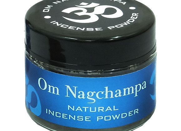 Om Nagchampa Incense 20gr Jar