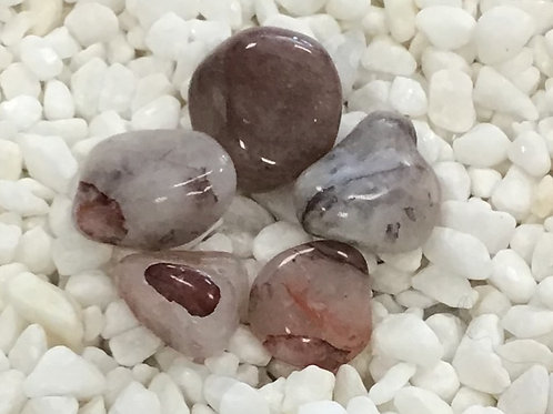 Quartz, Strawberry (Tumbled)
