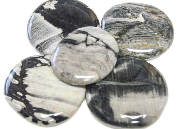 Earth Stones - Jasper, Silverleaf