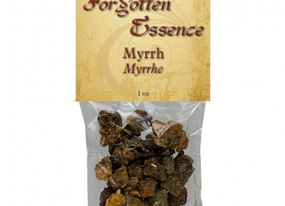 Resin - Myrrh 1oz Bag