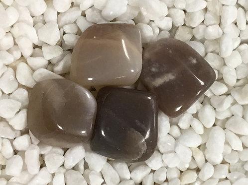 Moonstone, Chocolate (Tumbled)