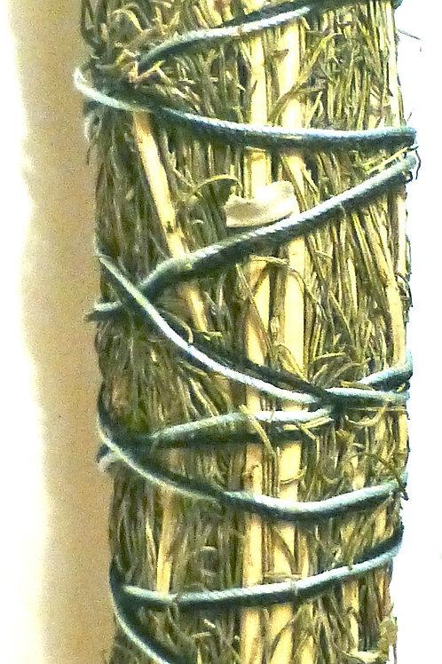 "Smudge Stick 8"" - Sweetgrass"