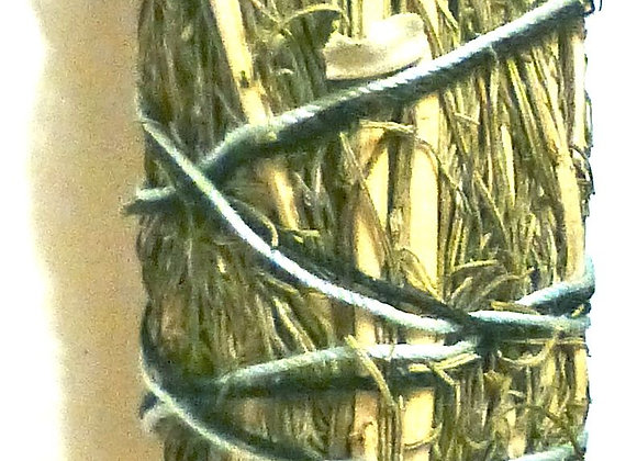 "Smudge Stick 8"" - Sweetgrass"