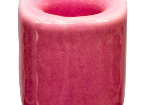 Mini Ritual Candle Holder -Pink