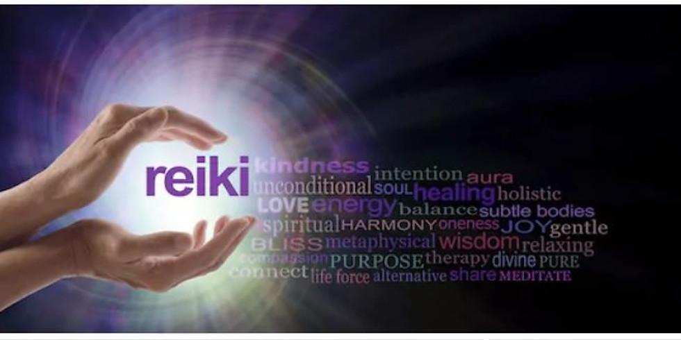 Reiki Share & Holy Fire Experience