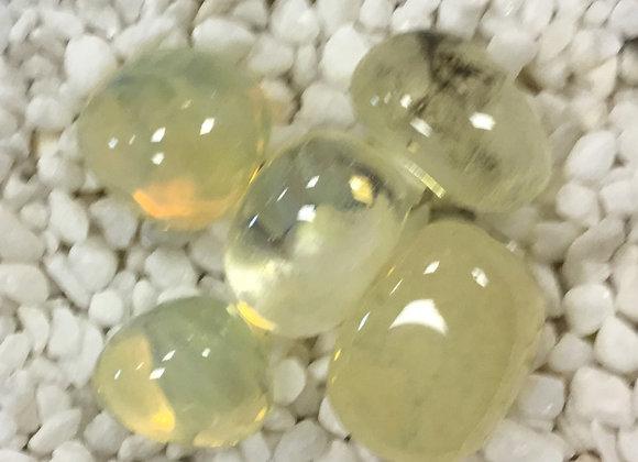 Obsidian, Yellow (Tumbled)