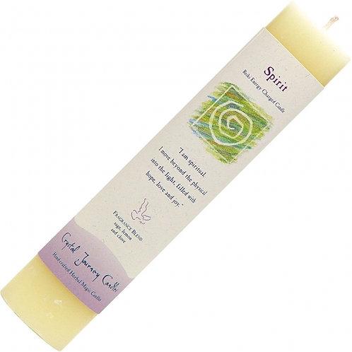 Reiki Herbal Pillar Candle - Spirit