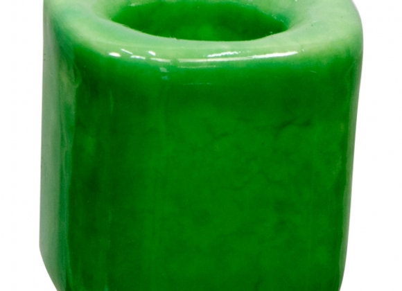 Mini Ritual Candle Holder - Light Green