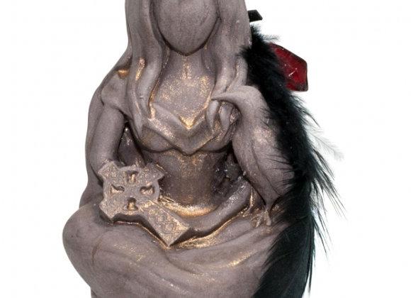 Goddess Morrigan Figurine