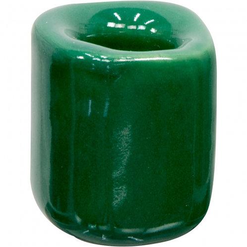 Mini Ritual Candle Holder - Dark Green