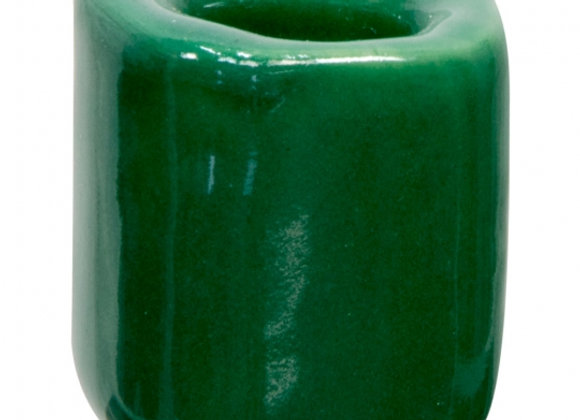 Mini Ritual Candle Holder - Dark Green