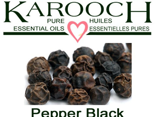 Essential Oil, Black Pepper 15ml
