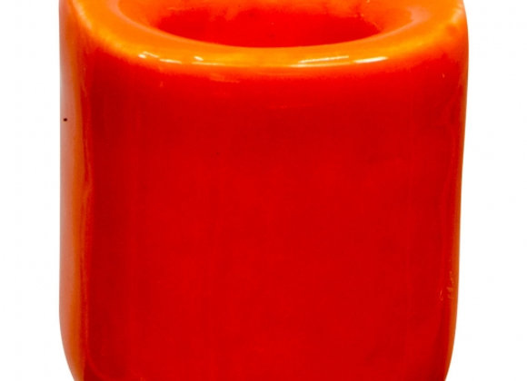 Mini Ritual Candle Holder - Orange
