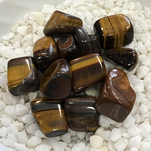 Tiger's Eye, Golden (Tumbled)