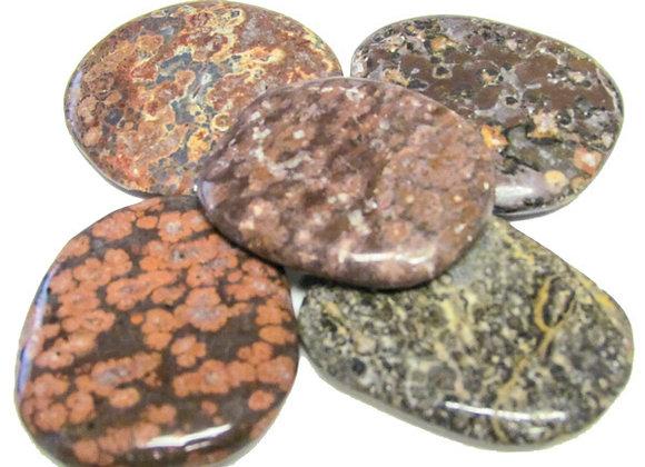 Earth Stone - Jasper, Lepardskin