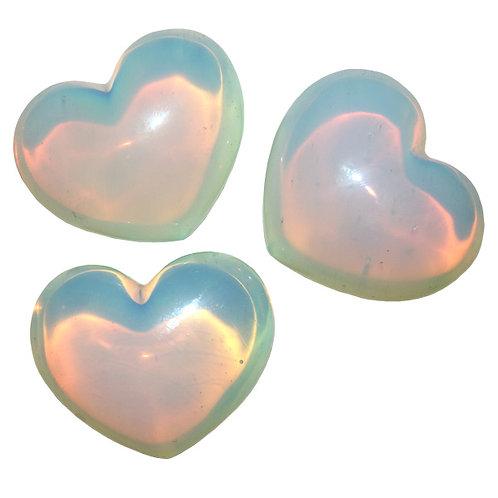 Puffy Heart - Opalite