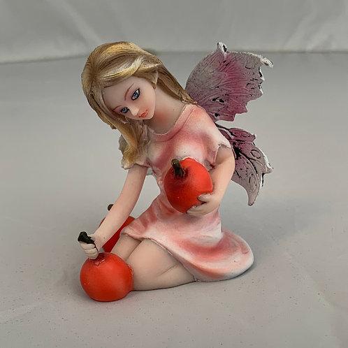 Cherry Fairy Figurine