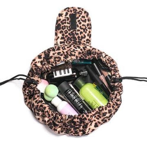 Leopard print Makeup Bag