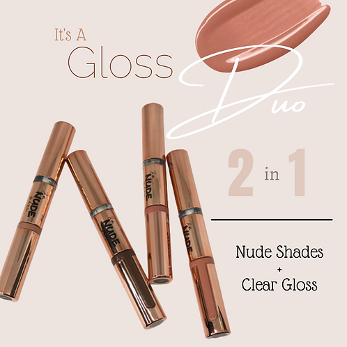 In The Nude - Lip Gloss Duo
